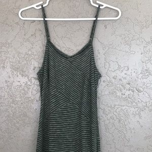 Mossimo striped maxi dress